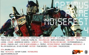 Optimus Prime Noise Fest